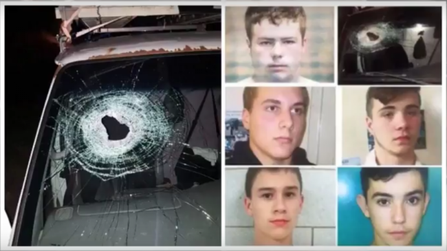 Five teens face life in prison for a prank gone wrong. Photo captured from video.