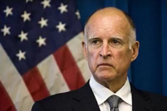 Gov. Brown's wants to brainwash the world, because god forbid people be different. Photo captured from the video.