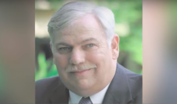 Retired Navy Officer, Commander John Wells, refused NFL award. Photo captured from the video.