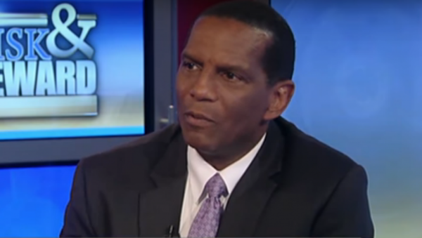 Burgess Owens joins the thousands of Republicans who are speaking against the left elites. Photo captured from he video.