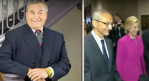 The End Is Near For The Podesta Group. Photo captured from the video\.