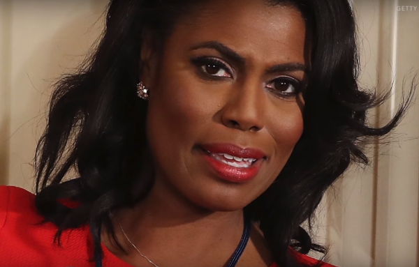 White House Aide Omarosa. Photo taken from the video.