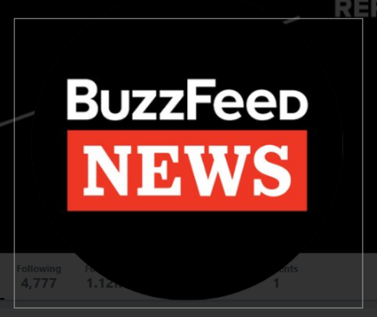 Buzzfeed. Photo taken from twitter.