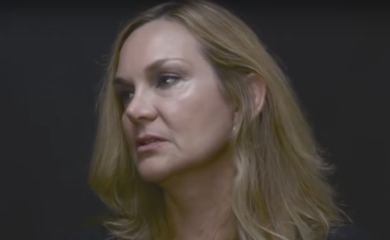Jill Harth. Photo taken from the video.