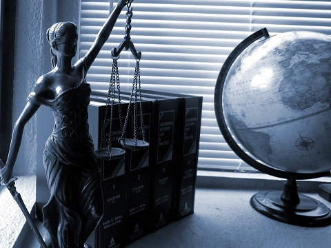 Lady Justice. Photo by Jessica with Pixabay. CC0
