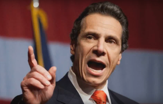 New York Gov. Andrew Cuomo. Photo from YouTube via Daily News US