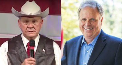 Roy Moore vs Doug Jones. Photo by Gage Skidmore.