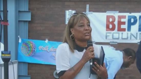 Pamela Harris, a New York state assemblywoman. Photo from video